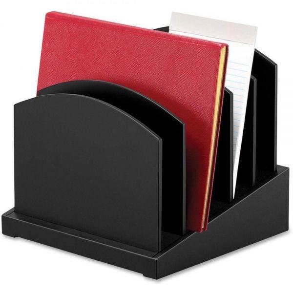 Victor Midnight Black Adjustable Incline File Sorter