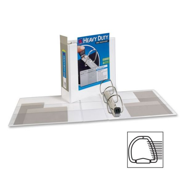 "Avery Heavy-Duty Reference 4"" 3-Ring View Binder"