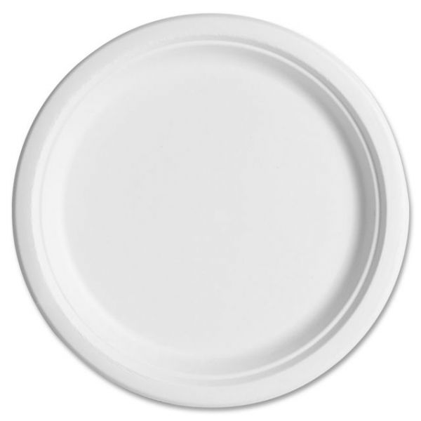 "Eco-Products 10"" Sugarcane Plates"