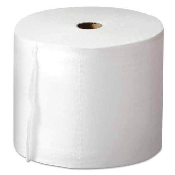 Morcon Paper Mor-Soft Coreless Alternative Toilet Paper, 2-Ply, White, 1000 Sheets/Roll, 36 Rolls/Carton