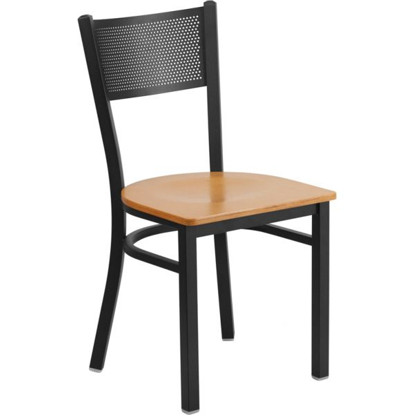 Flash Furniture HERCULES Series Grid Back Restaurant Chair