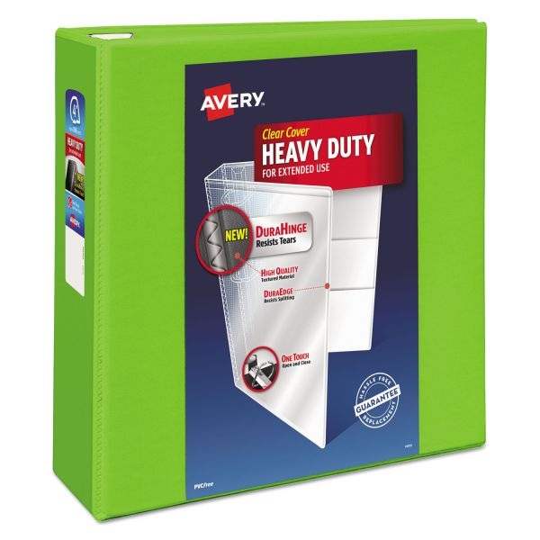 "Avery Heavy-Duty 4"" 3-Ring View Binder"