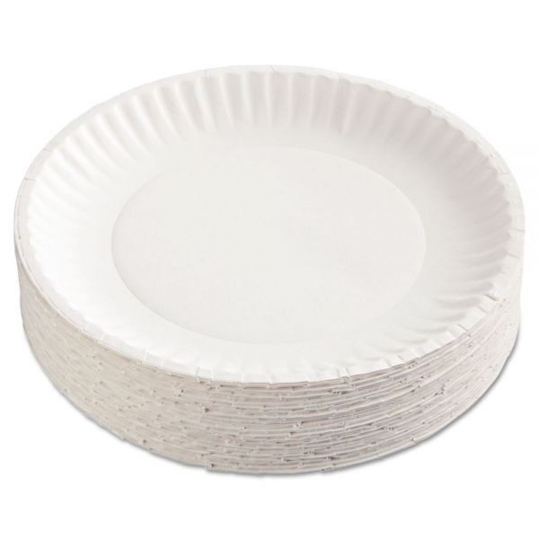 "Nature's Own Green Label 9"" Paper Plates"