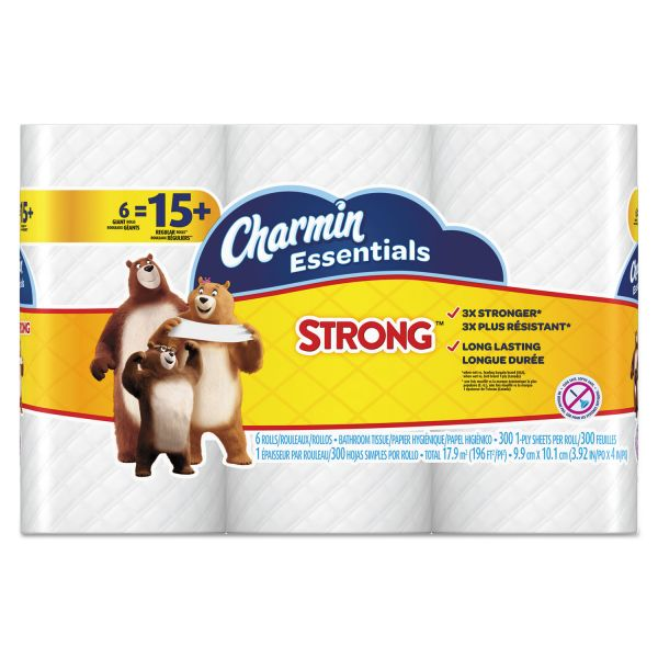 Charmin Essentials Strong 1 Ply Toilet Paper