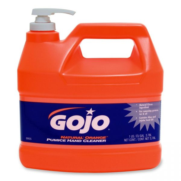Gojo Natural Orange Pumice Liquid Hand Soap