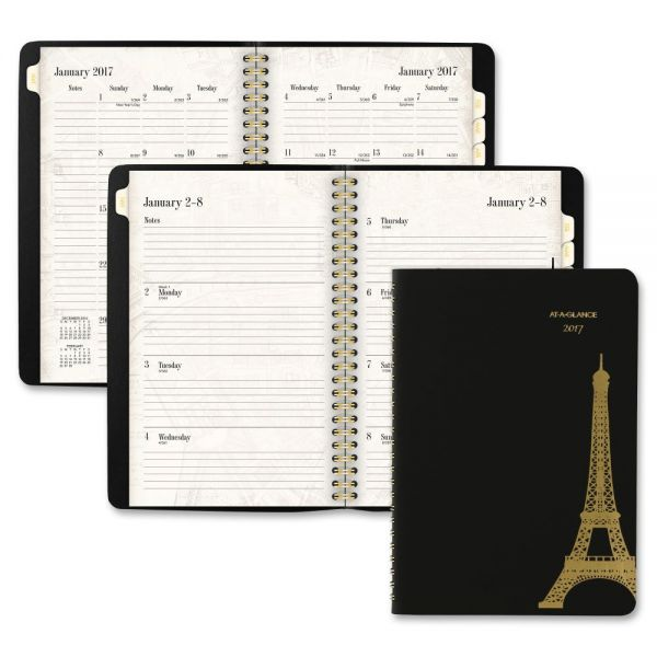 At-A-Glance Paris Premium Weekly/Monthly Planner