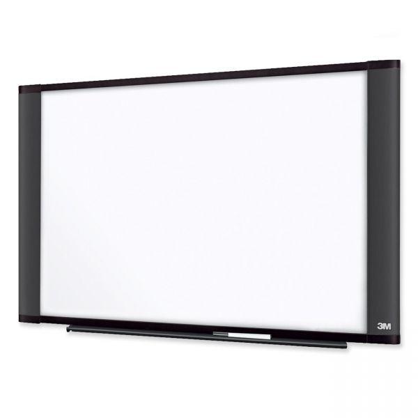 "3M 36"" x 24"" Widescreen Melamine Dry Erase Whiteboard"