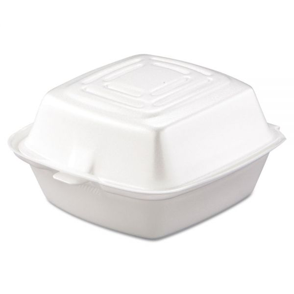 Dart Takeout Foam Clamshell Food Containers