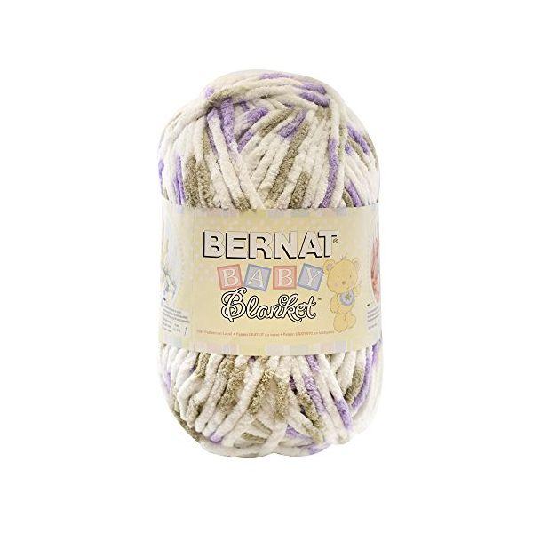 Bernat Baby Blanket Big Ball Yarn - Little Lilac Dove