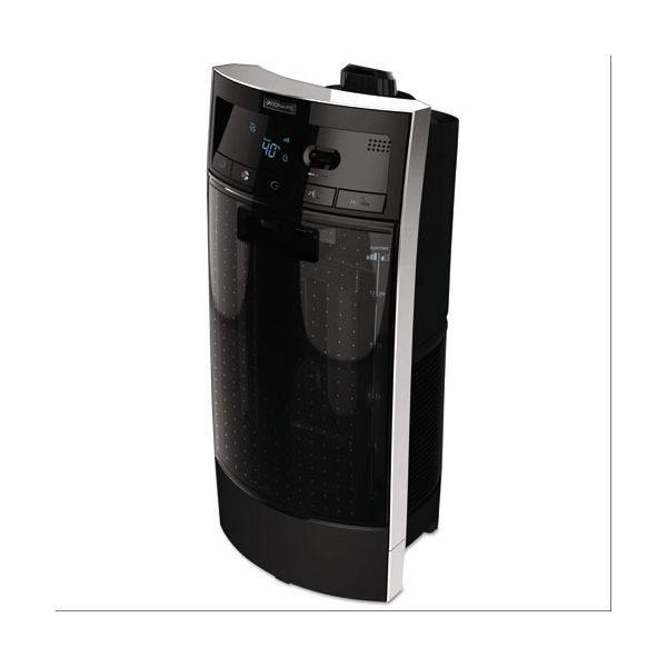 Bionaire Digital Ultrasonic Tower Humidifier, 3 Gal Output, 10w x 10 1/4d x 22h, Black