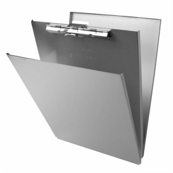 Saunders Top-Opening Aluminum Storage Clipboard