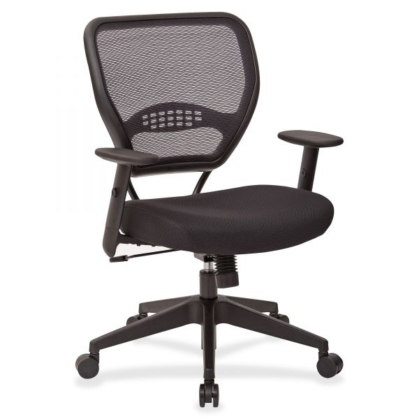 Office Star Dark AirGrid Back Manager's Chair