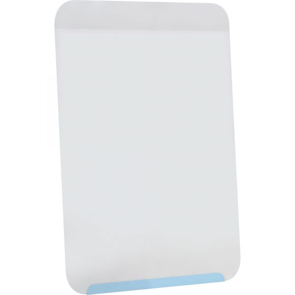 """Ghent 18"""" x 24.5"""" Link Magnetic Painted Steel Dry Erase Whiteboard"""