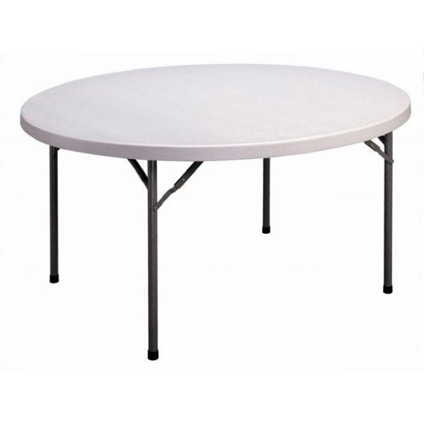 Correll Blow-Molded Round Folding Table