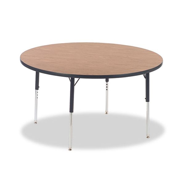 4000 Series Adjustable Height Round Activity Table