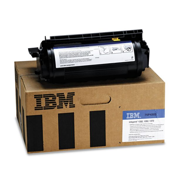 InfoPrint Solutions Company 75P4303 High-Yield Toner, 21000 Page-Yield, Black