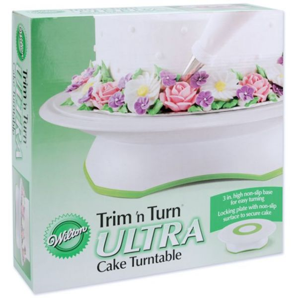 Trim 'n Turn Ultra Cake Turntable