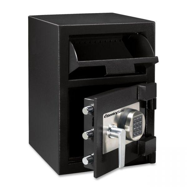 Sentry Safe Digital Depository Safe, Large, 0.94 ft3, 14w x 15 3/5d x 20h, Black