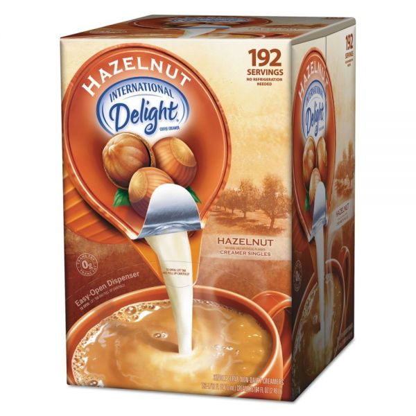 International Delight Hazelnut Coffee Creamer Mini Cups