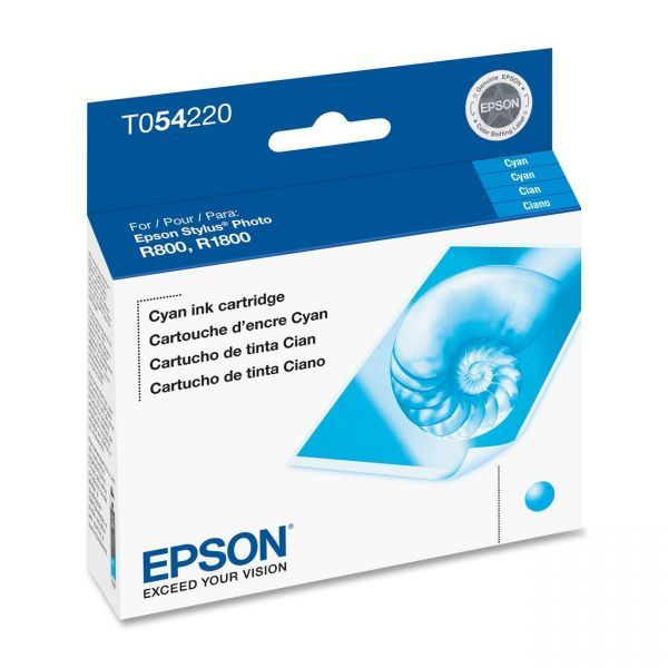 Epson T0542 Cyan Ink Cartridge