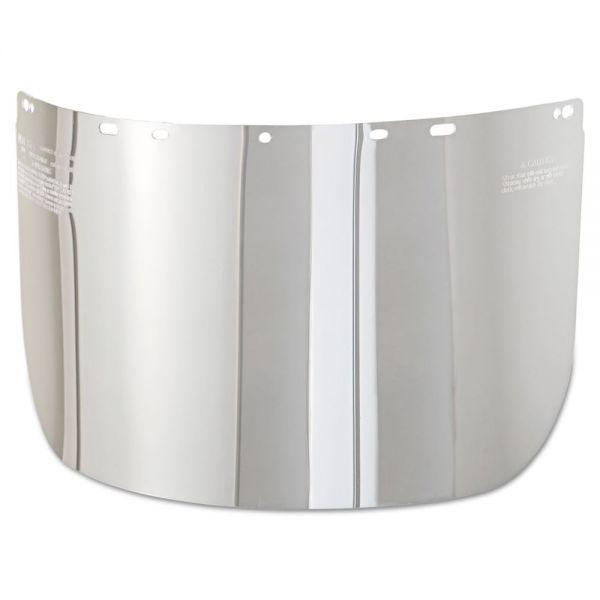 MSA V-Gard Visor, 7 7/8 x 15 3/4 x 0.4, Clear