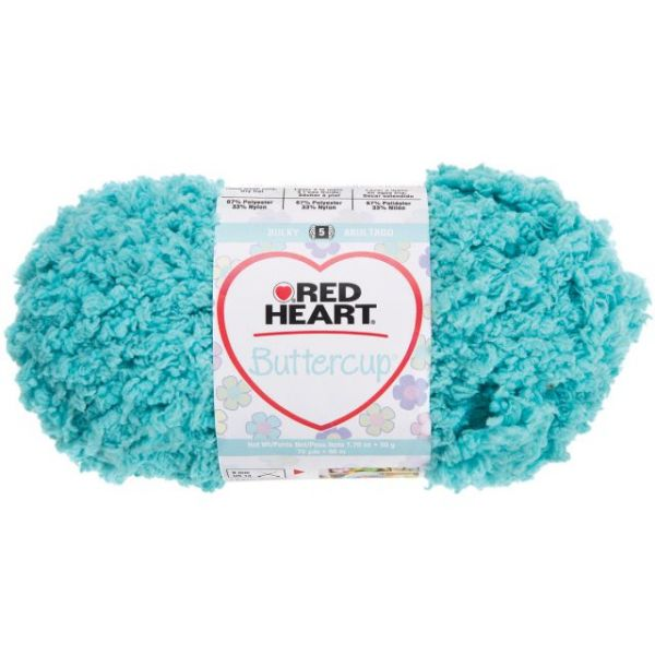 Red Heart Buttercup Yarn - Pool