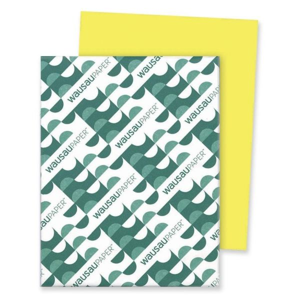 Neenah Paper Astrobrights Lift-Off Lemon Colored Card Stock