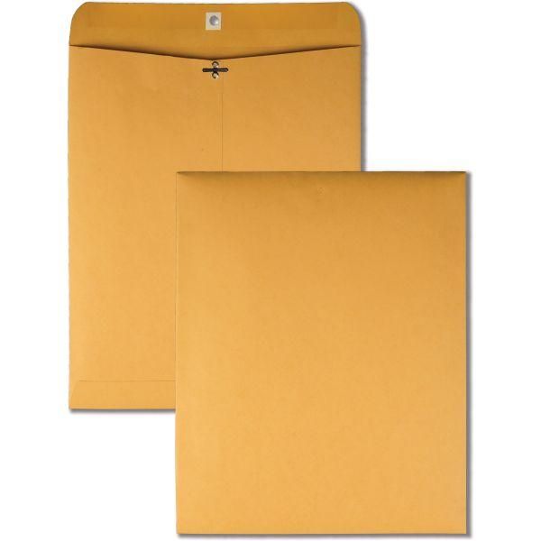 """Quality Park Gummed 11 1/2"""" x 14 1/2"""" Clasp Envelopes"""