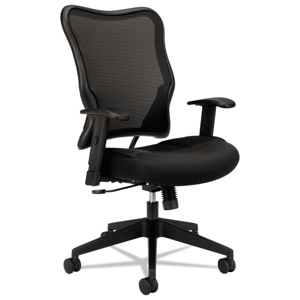 basyx by HON HVL702 High-Back Mesh Office Chair