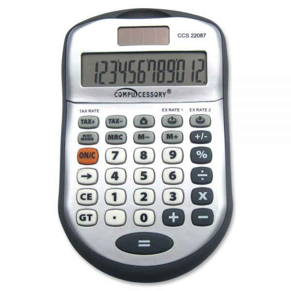 Compucessory 22087 12-digit Desktop Calculator