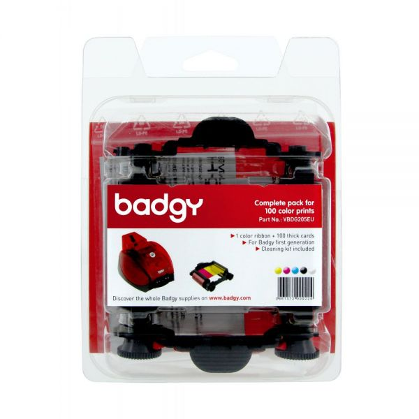 Evolis Badgy-Basic, Thick Consumable Kit