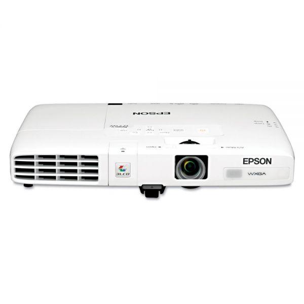 Epson PowerLite 1771W Multimedia Projector, 3000 Lumens, 1280 x 800 Pixels, 1.2x Zoom