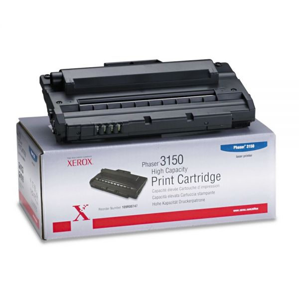 Xerox 109R00747 Black High Yield Toner Cartridge