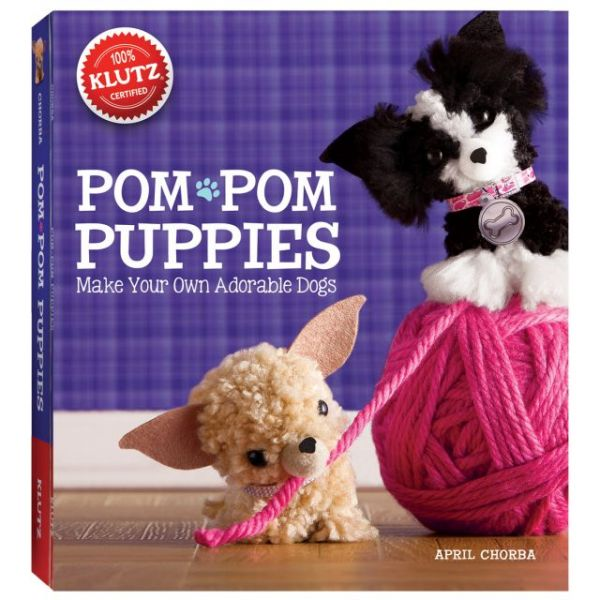 Pom-Pom Puppies Book Kit