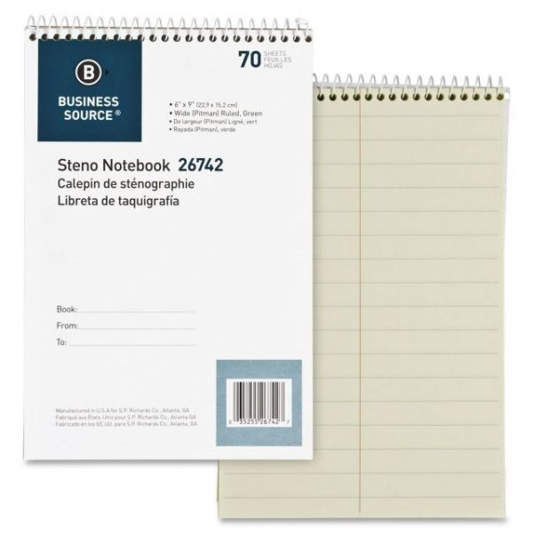 Business Source Steno Pad