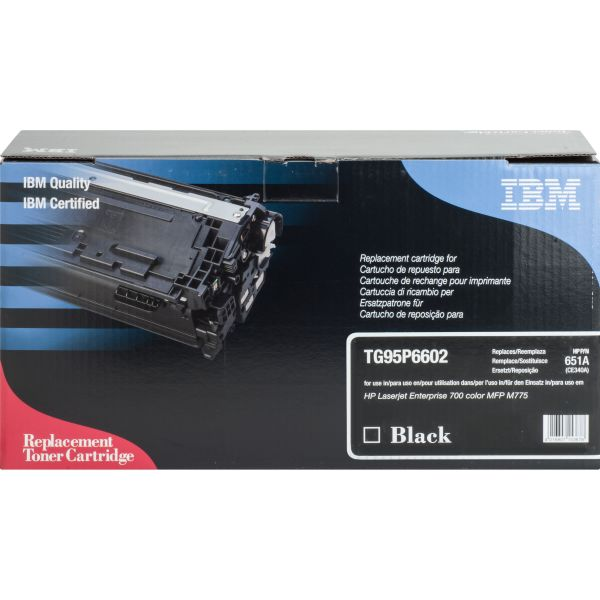 IBM Remanufactured HP 507A (CE340A, CE400A) Toner Cartridge