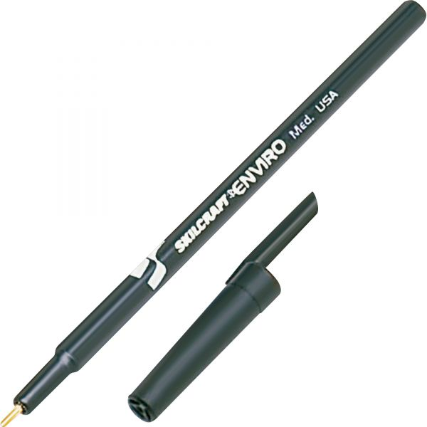 SKILCRAFT Stick Type Recycled Ballpoint Pens