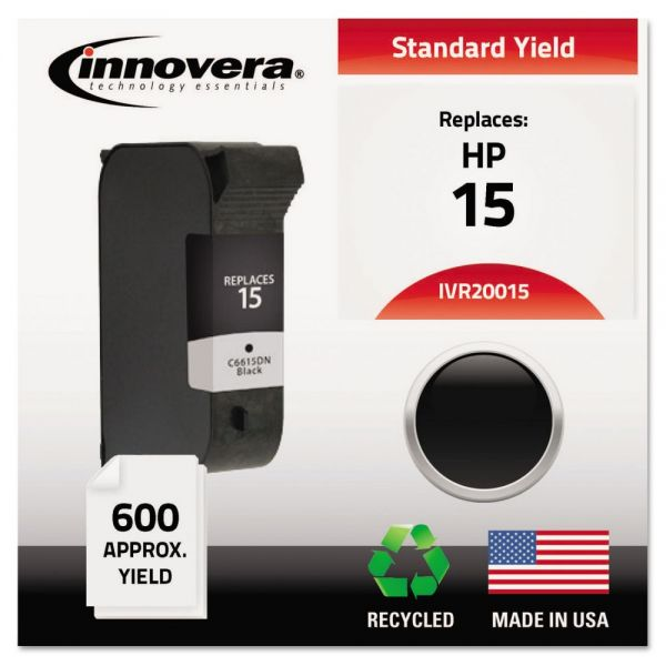 Innovera Remanufactured HP 15 Ink Cartridge