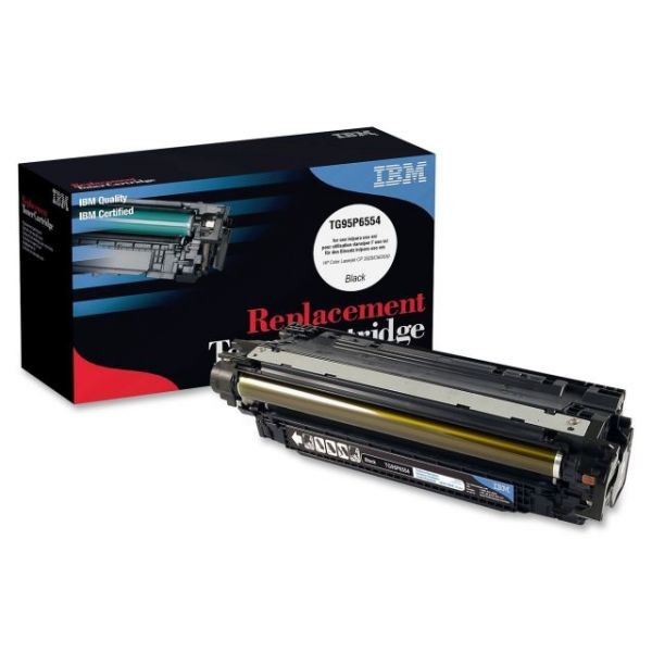 IBM Remanufactured HP CE250X Black Toner Cartridge