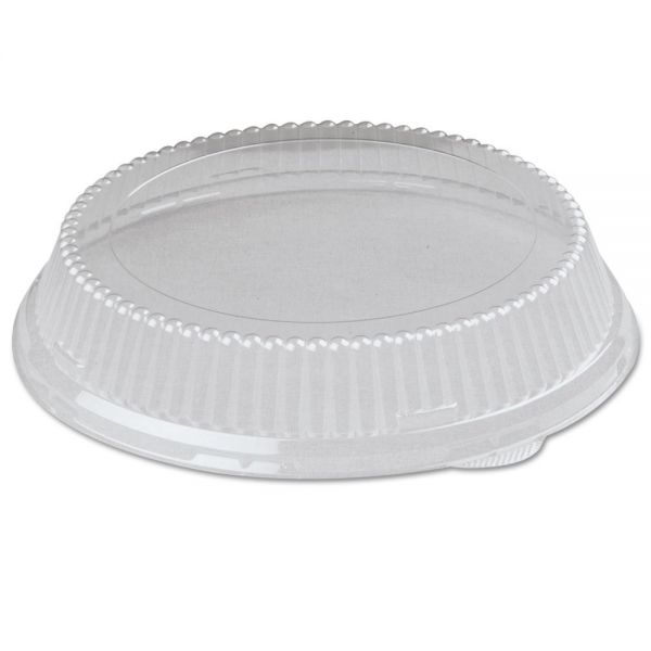 Genpak Snap-On Plastic Dome Takeout Container Lids