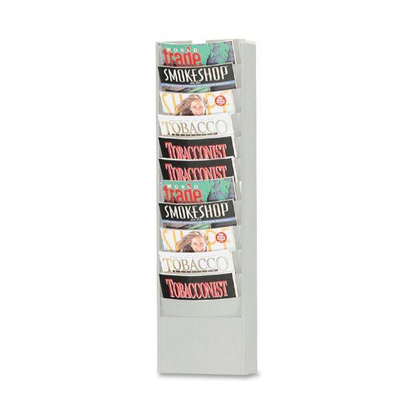 Buddy Eclipse Line 11 Curve Pocket Literature Rack