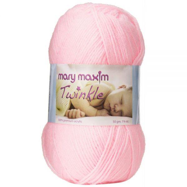 Mary Maxim Twinkle Yarn - Pink