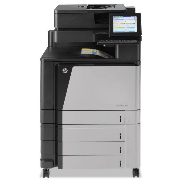 HP Color LaserJet Enterprise flow M880z Wireless MFP, Copy/Fax/Print/Scan