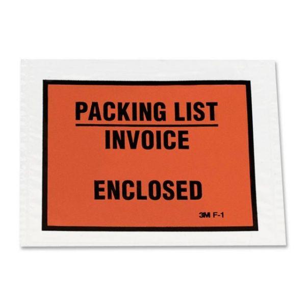 3M Full Print Packing List Envelopes