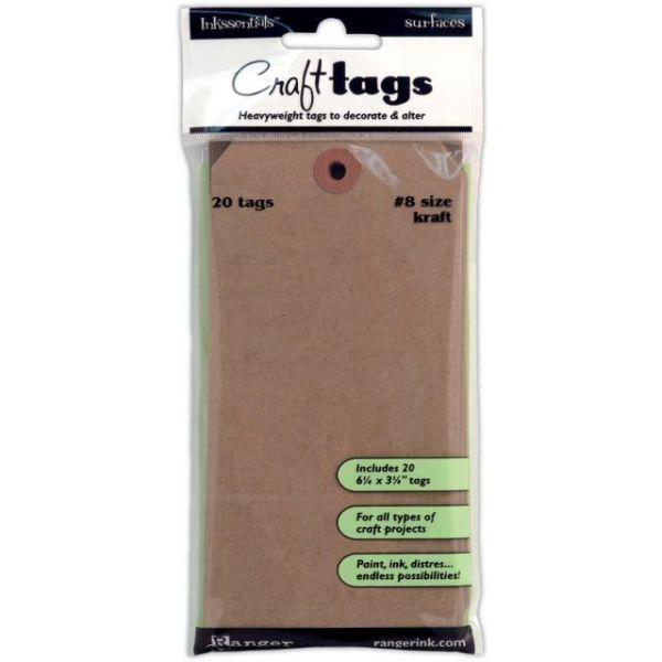 Inkssentials Brown Kraft Surfaces 20/Pkg