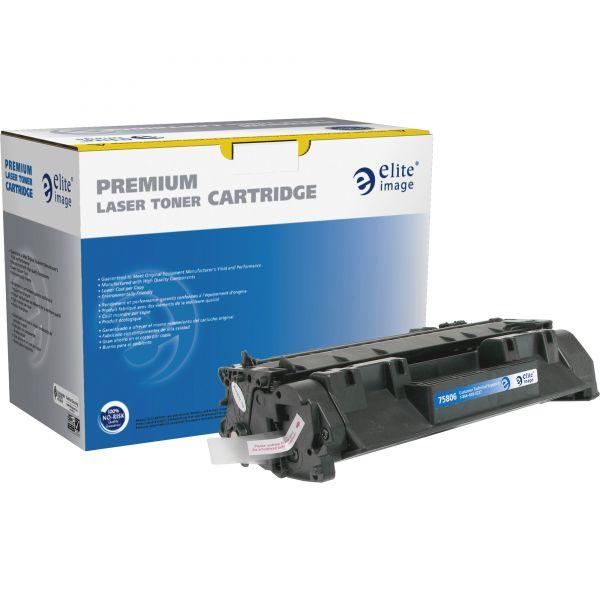 Elite Image Remanufactured HP CF280A Black Toner Cartridge