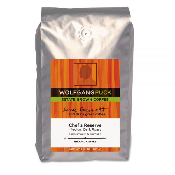 Wolfgang Puck Ground Coffee (2 lbs)