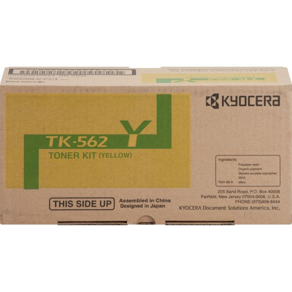 Kyocera TK562Y Yellow Toner Cartridge