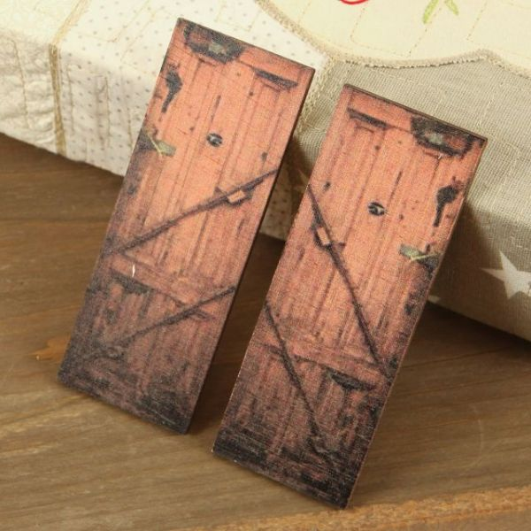 Wood Doors Embellishment 4""
