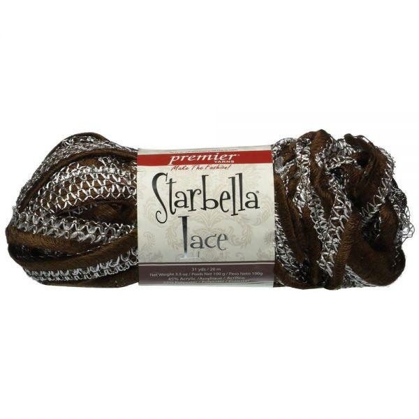 Premier Starbella Lace Yarn - Brunette